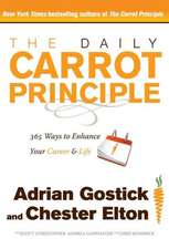 DAILY CARROT PRINCIPLE