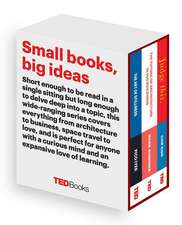 Ted Books Box Set:  The Art of Stillness, the Future of Architecture, and Judge This