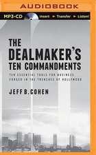 The Dealmaker's Ten Commandments