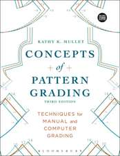 Concepts of Pattern Grading: Bundle Book + Studio Access Card