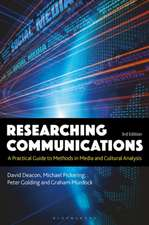 Researching Communications: A Practical Guide to Methods in Media and Cultural Analysis