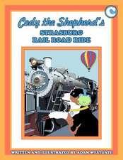 Cody the Shepherd's Strasburg Rail Road Ride