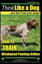 Wirehaired Pointing Griffon, Wirehaired Pointing Griffon Training Think Like a Dog But Don't Eat Your Poop! Wirehaired Pointing Griffon Breed Expert T