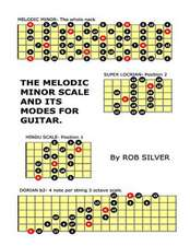 The Melodic Minor Scale and Its Modes for Guitar