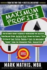 Maximum Profit$