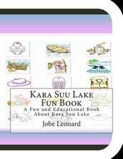 Kara Suu Lake Fun Book