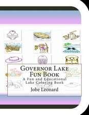 Governor Lake Fun Book