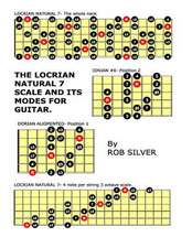 The Locrian Natural 7 Scale and Its Modes for Guitar