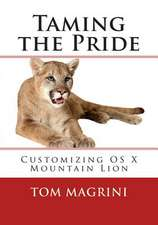 Taming the Pride
