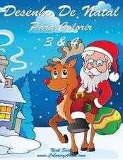 Desenho de Natal Para Colorir 3 & 4