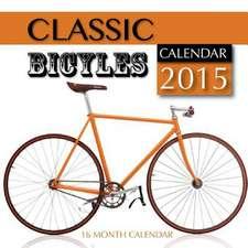 Classic Bicycles Calendar 2015