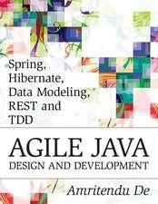 Spring, Hibernate, Data Modeling, Rest and Tdd
