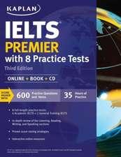 IELTS Premier with 8 Practice Tests: Online + Book + CD