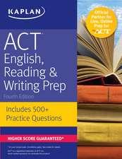 ACT English, Reading & Writing Prep
