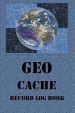 Geocache Record Log Book