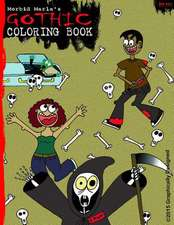 Morbid Marla's Gothic Coloring Book
