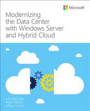 Modernizing the Data Center with Windows Server and Hybrid Cloud