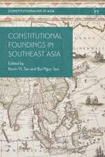 Constitutional Foundings in Southeast Asia