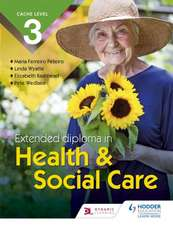 CACHE Technical Level 3 Extended Diploma in Health & Social Care