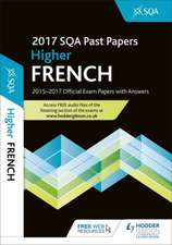 Higher French 2017-18 SQA Past Papers with Answers