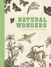 Natural Wonders: Portable Coloring for Creative Adults