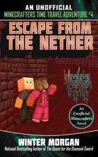 Escape from the Nether: An Unofficial Minecrafters Time Travel Adventure, Book 4