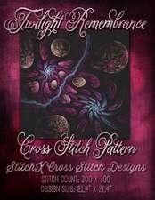 Twilight Remembrance Cross Stitch Pattern