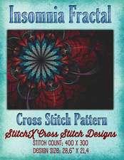 Insomnia Fractal Cross Stitch Pattern