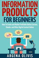 Information Products for Beginners