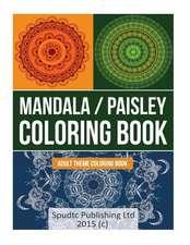 Mandala/Paisley Coloring Book