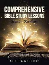 Comprehensive Bible Study Lessons