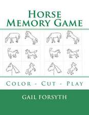 Horse Memory Game