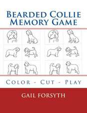Bearded Collie Memory Game