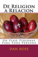 de Religion a Relacion