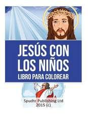 Jesus Con Los Ninos Libro Para Colorear