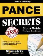 Pance Prep Review Pance Secrets Study Guide