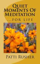 Quiet Moments of Meditation:  A Systematic Literature Review