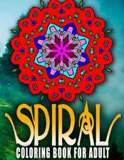 Spiral Coloring Books for Adults - Vol.5
