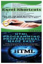 Excel Shortcuts & HTML Professional Programming Made Easy