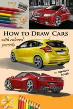How to Draw Cars with Colored Pencils