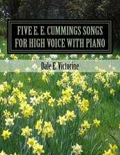Five e. e. cummings Songs