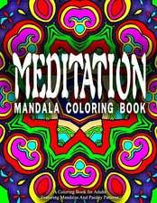 Meditation Mandala Coloring Book - Vol.2