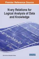N-ary Relations for Logical Analysis of Data and Knowledge