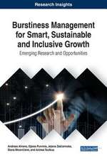 Burstiness Management for Smart, Sustainable and Inclusive Growth