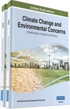 Climate Change and Environmental Concerns