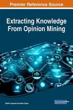 Extracting Knowledge From Opinion Mining