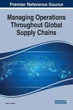 Managing Operations Throughout Global Supply Chains