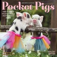 Pocket Pigs Mini Wall Calendar 2018