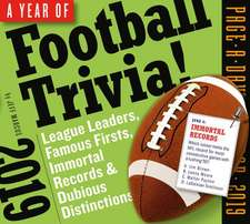 Year of Football Trivia! Page-A-Day Calendar 2019