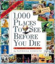 1,000 Places to See Before You Die 2019. Wall Calendar
